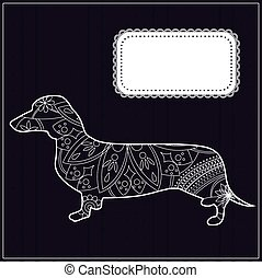 Dachshund background