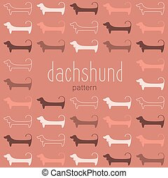 dachshund_pattern_template