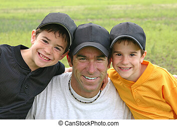 Dad and Boys