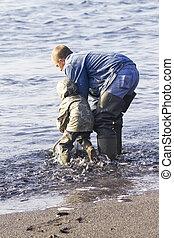 Dad Helps Son