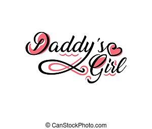 Daddy's girl tattoo