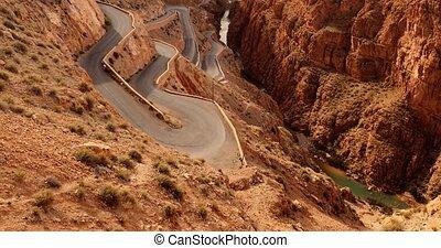 Dades Gorge, Gorges Du Dades, Morocco