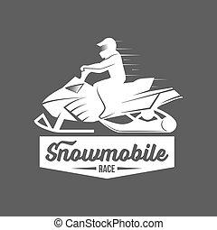 dadges, jogo, snowmobile