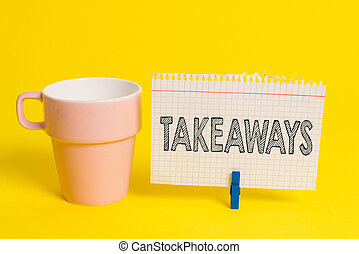 dado forma, ato, copo, papel, foto, showcasing, amarela,...