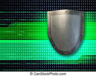 dados, escudo