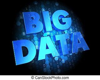dados, integração, ligado, escuro, digital, experiência.