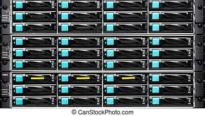 dados, matriz, disco, armazenamento, centro