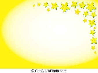 Daffodil Background - Bright yellow daffodils background...