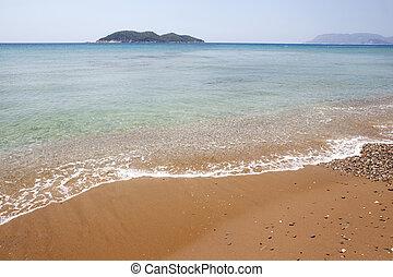 dafni beach zakynthos island, greece
