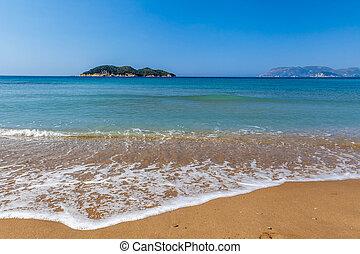 Dafni beach, zakynthos island