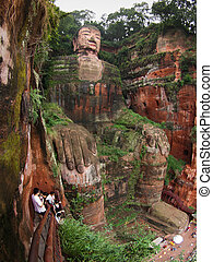 Dafo - Giant Budha - The largest Budha in the world (Leshan...