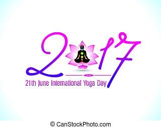 dag, abstrakt, bakgrund, artistisk, yoga