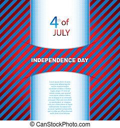 dag, achtergrond, onafhankelijkheid