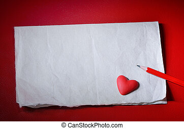 dag, achtergrond, valentine