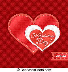 dag, card, valentine's