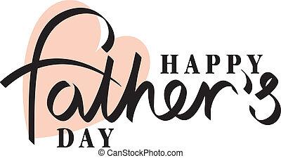 dag fædre, hånd
