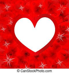 dag, hart, kaart, valentin`s