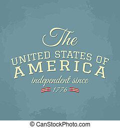 dag, kaart, onafhankelijkheid