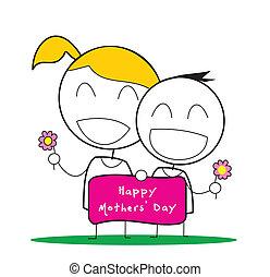 dag, mødre