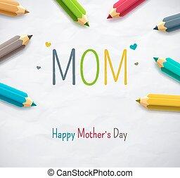 dag, moeder