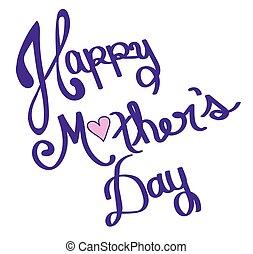 dag, mor