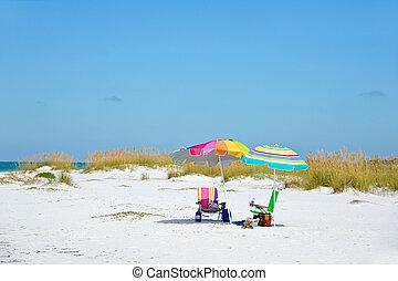 dag op het strand