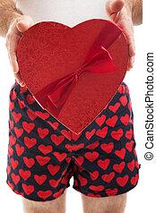 dag, valentines, vuistvechters, hartjes
