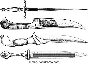 daga, cuchillo