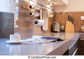 dagelijks leven, in de keuken