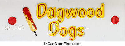 Dagwood Dogs Sign