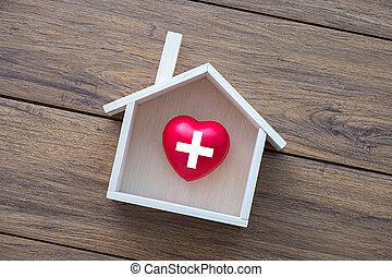 daheim, gesundheit, lieb, daheim, gesundheitspflege, und, medizinprodukt