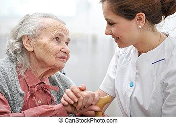daheim, krankenpflege