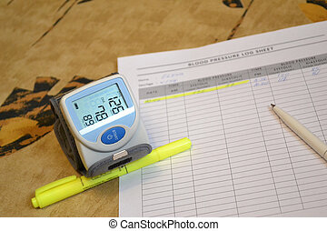 Daily blood pressure monitoring