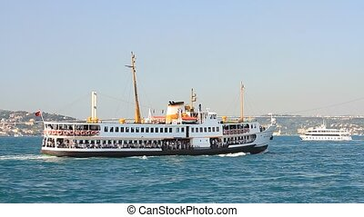Daily Bosporus tour ship - Istanbul City Cruise Boat.