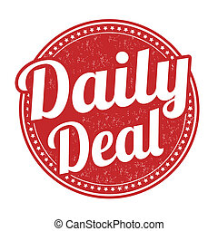 Daily deal stamp