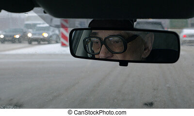 Daily driving in winter city