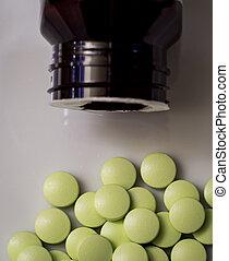 Daily pills or vitamins