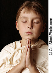 Daily Prayer - Child in prayer