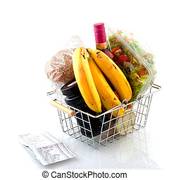 Daily shopping with cash voucher