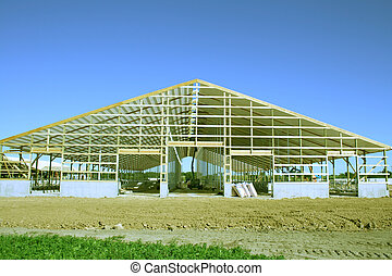 dairy barn construction