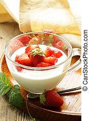 dairy dessert - yogurt