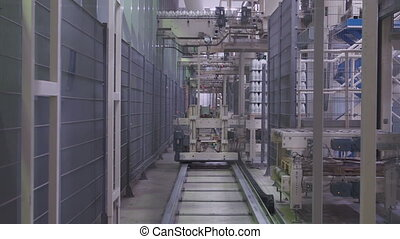 Dairy Plant warehouse - Dairy Plant. Warehouse automatic...