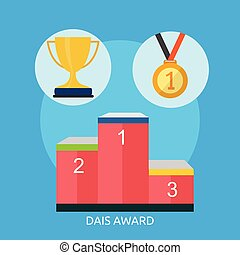 Dais Award Conceptual illustration Design