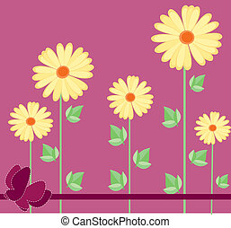 daisies -  Its an illustration in a EPS file