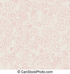 daisy background pink