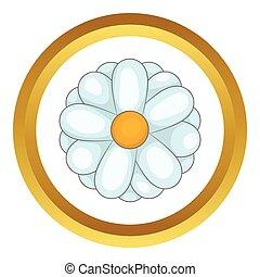 Daisy vector icon