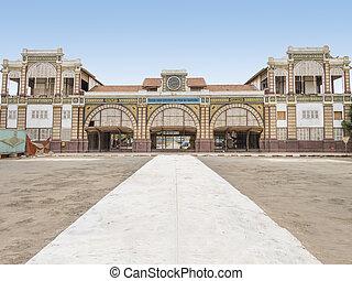 dakar, stazione ferroviaria, abbandonato