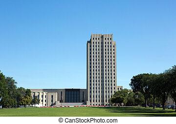 dakota, épület, állam, észak, kongresszus székháza washingtonban