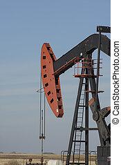 dakota, bien, aceite, norte