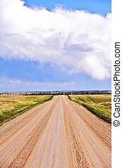 Dakota Country Road